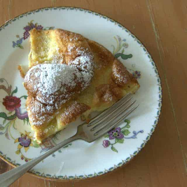 German Pancake - a light, fluffy pancake baked in the oven and a treat any day of the week!