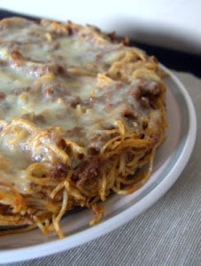 Day 192 – Baked Spaghetti Pie