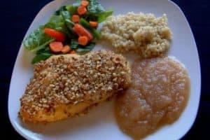Day 301 – Mustard Pecan Chicken