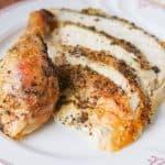 Slices of Roast Chicken.
