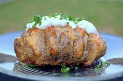 Scalloped-Hasselback-Potato