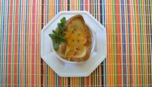 Day 347 – Baked Eggs in Toast Cups