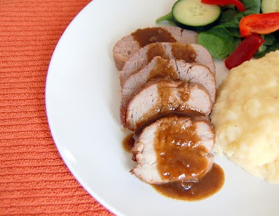 a pork tenderloin wonderfully flavored with Jack Daniel's whiskey, brown sugar, soy sauce, Dijon mustard and garlic making it an incredible entree!