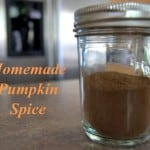 Save money and make your own Pumpkin Spice at home!