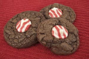 Double Chocolate Peppermint Kisses ~ Day 2 of the 12 Days of Cookies '12