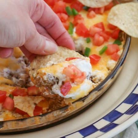 Taco Dip ~ The Secret Recipe Club