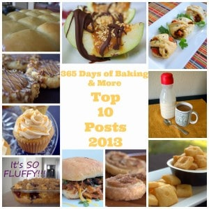 2013 Top Ten at 365 Days of Baking