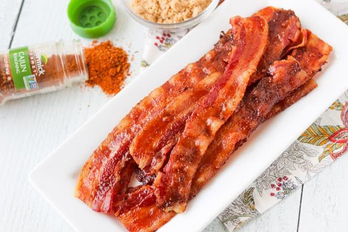 Cajun Sugared Bacon