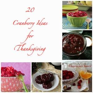 Mmmmm….Cranberry Sauce!