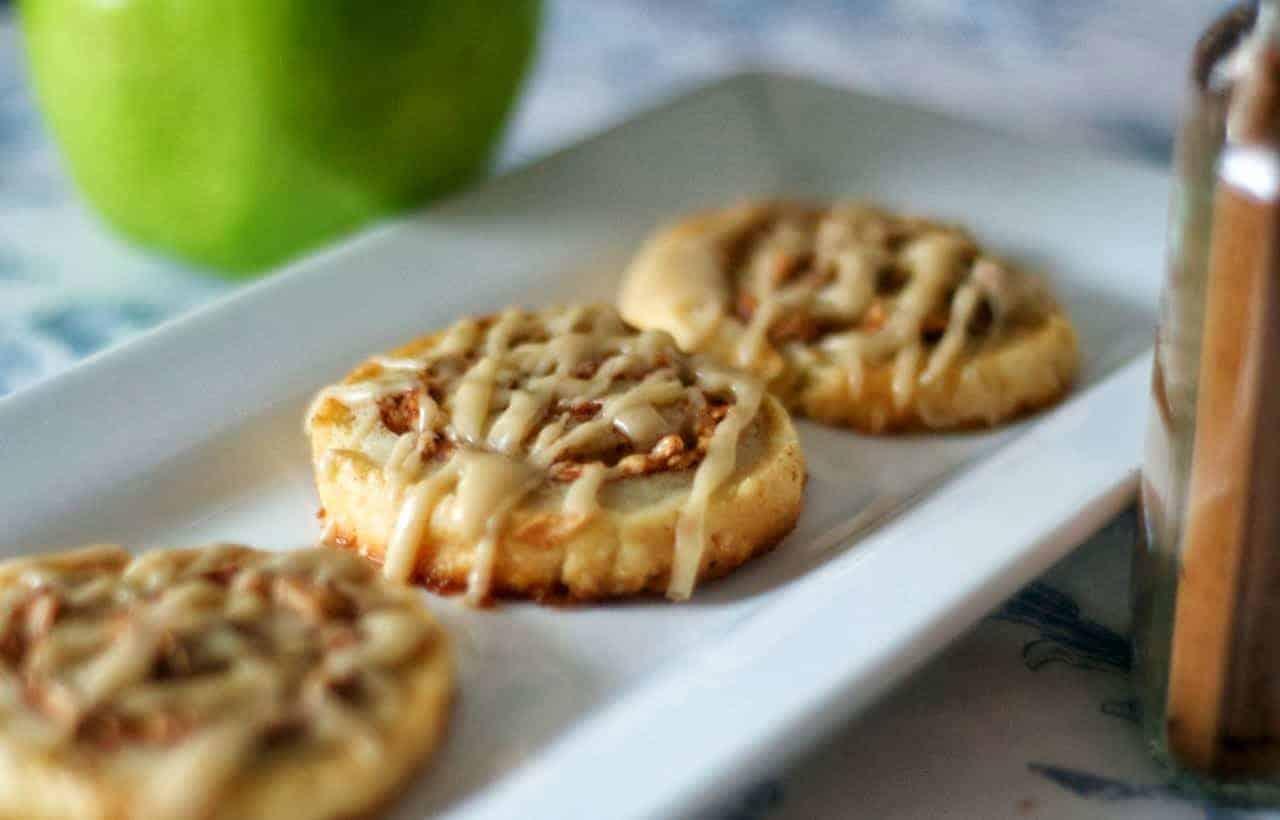 Caramel-Apple Pie Crust Cookies - 365 Days of Baking