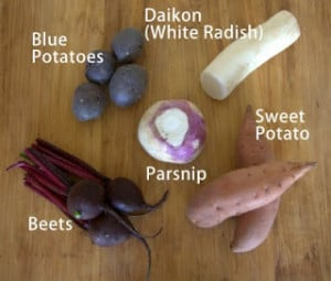 Day 199 – Baked Vegetable Chips With Yogurt Dipping Sauce