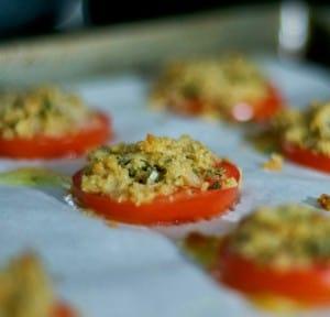 Crumby Tomatoes