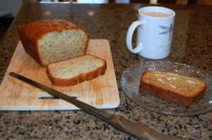 Day 1 – Beginning with Banana Bread