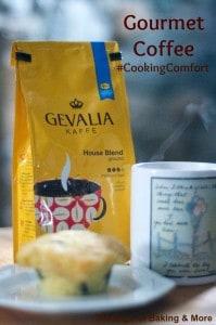Gevalia Coffee and Blueberry Cream Cheese Muffins