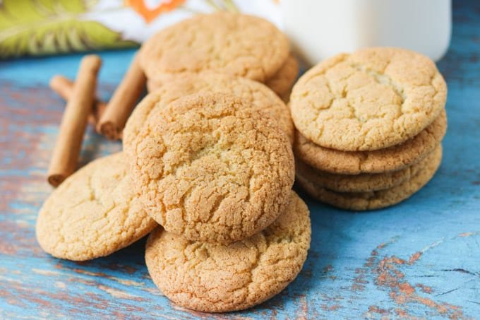 Cookies flavored with the flavors of chai.