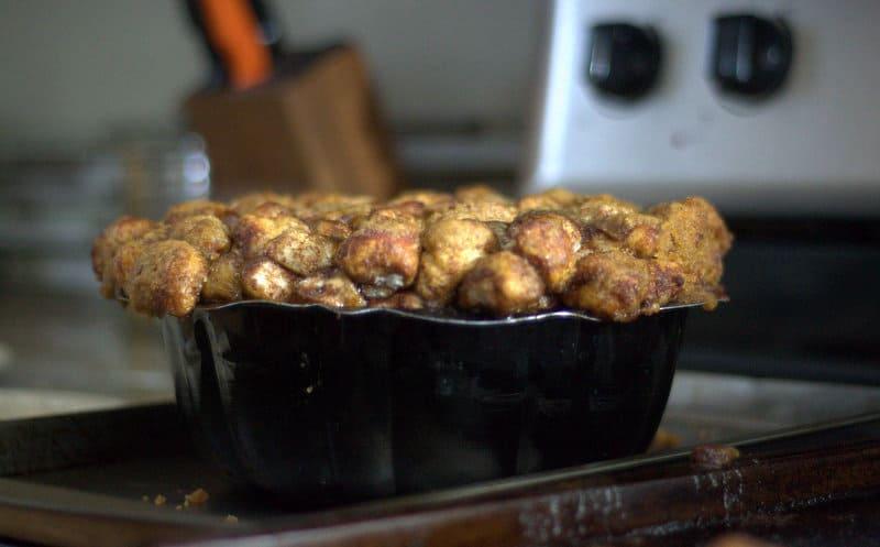 Mom's Monkey Bread - a fun pull-apart cinnamon sugar treat everyone's sure to love!