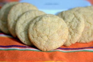 The classic Snickerdoodle Cookie with the great taste of Chai.