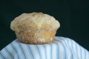 French Breakfast Puffs - a delicious muffin coated in butter and rolled in cinnamon sugar.