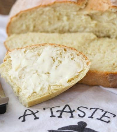 Slices of Italian Bread