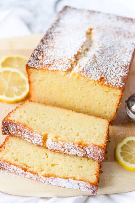 Lemon Ricotta Pound Cake.