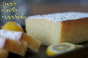 Lemon Ricotta Poundcake