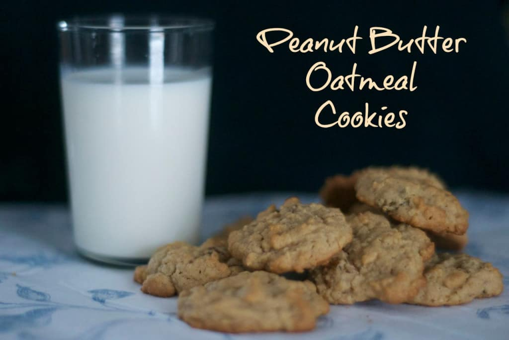 An old-time favorite, the oatmeal raisin cookie, with the great taste of peanut butter and raisins!