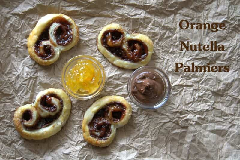 Orange Nutella Palmiers