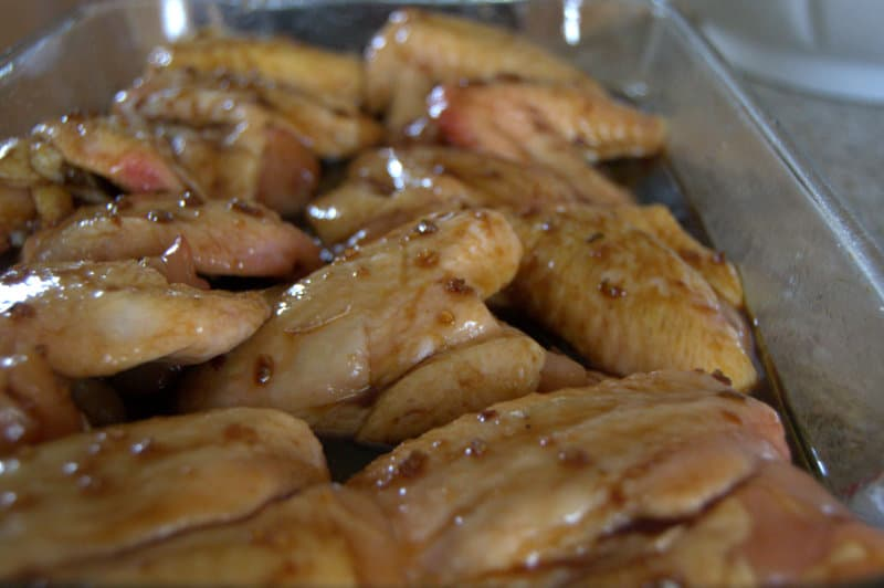 Baked Chinese Chicken Wings
