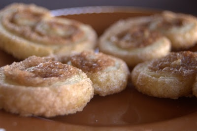 Cinnamon Sugar Palmiers - that great bakery treat with a flaky crust, filled and covered in cinnamon sugar.