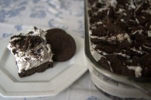 Oreo Pudding Dream Bars