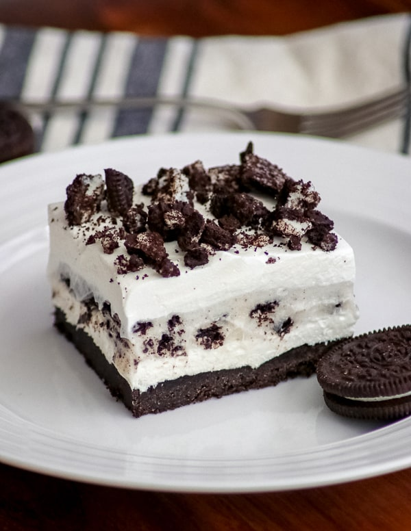 Oreo Pudding Dream Bars or Cookies and Cream Bars