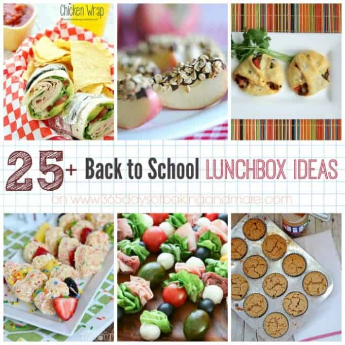25 Back To School Lunch Box Ideas 365 Days Of Baking