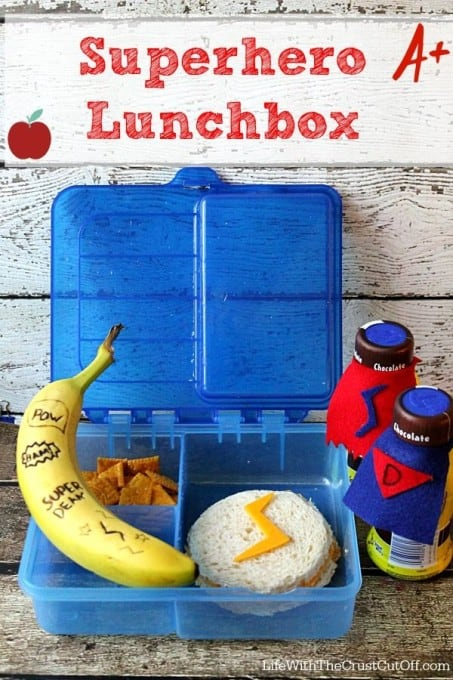 Back To School Superhero Lunch Box