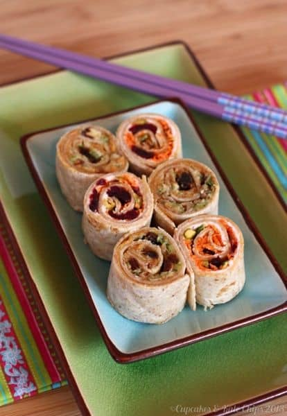 Carrot Cake & Zucchini Bread Sushi