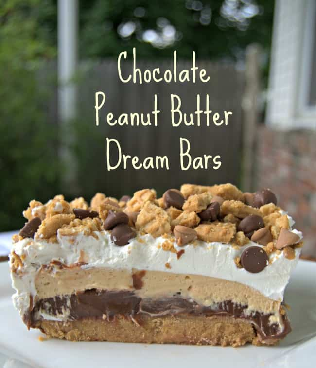 Chocolate Peanut Butter Dream Bars - 2