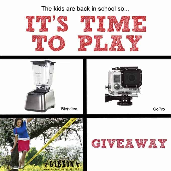TIme-to-Play Giveaway