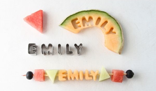 Your Name Here Fruit Kabobs