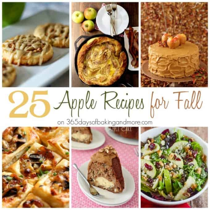25 Apple Recipes for Fall SQUARE