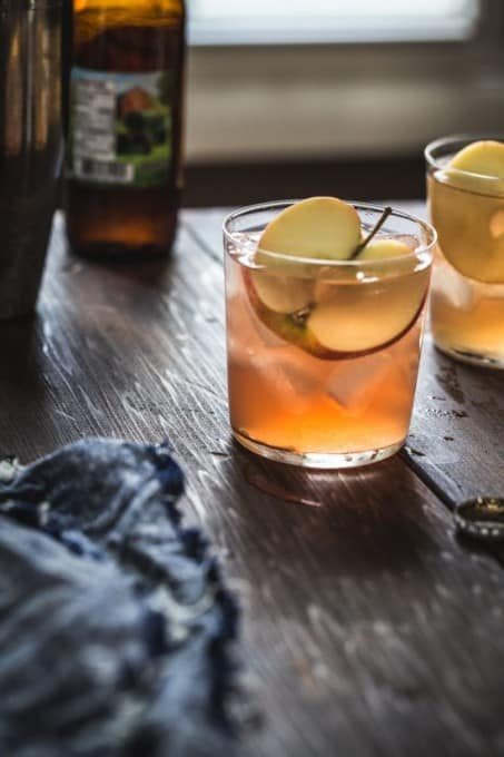 Cranberry Apple Cider Cocktail