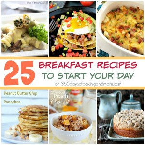 25 Breakfast Recipes to Start Your Day