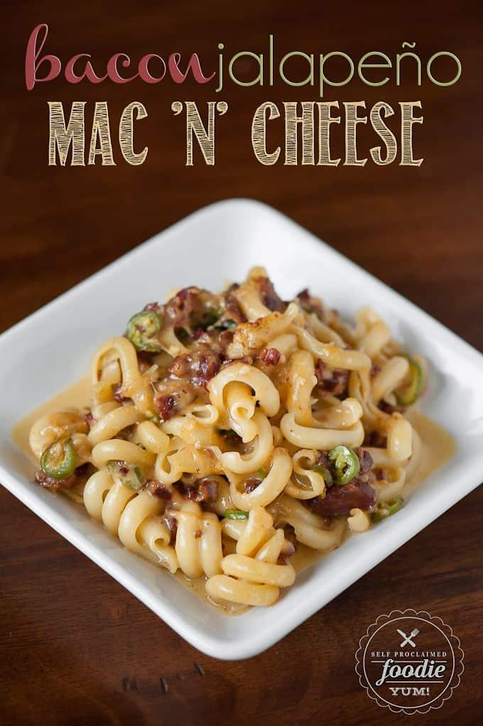 Bacon Jalepeno Mac n Cheese