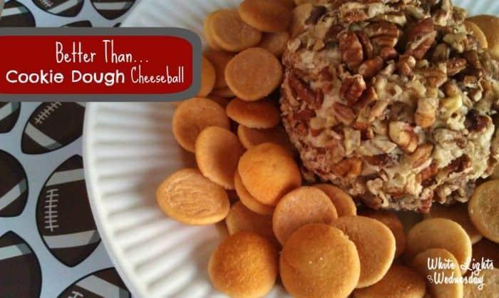 Better Than...Cookie Dough Cheeseball