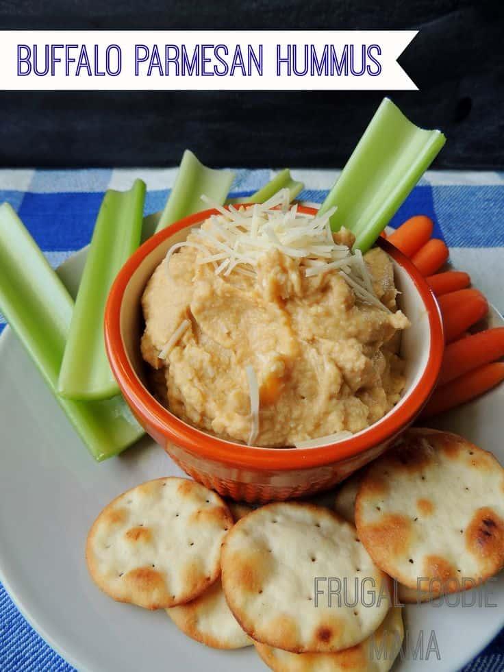 Buffalo Parmesan Hummus