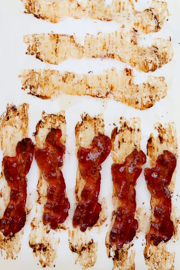 Perfectly cooked bacon made in a cold oven. No preheating necessary!
