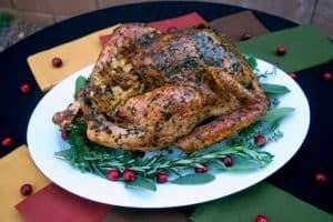 Herb Roasted Turkey - a beautiful and delicious presentation all in one!