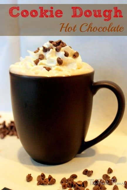 Adult Cookie Dough Hot Chocolate
