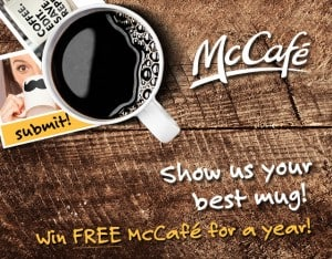 Win a Year's Supply of Free McCafé Coffee!