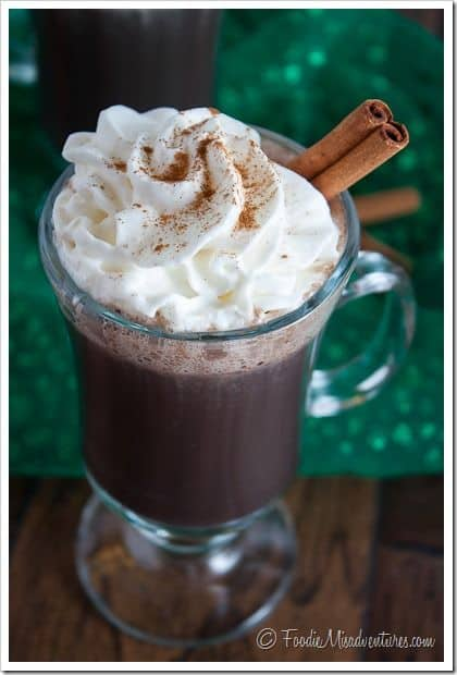 Mexican Hot Chocolate (Spiked)