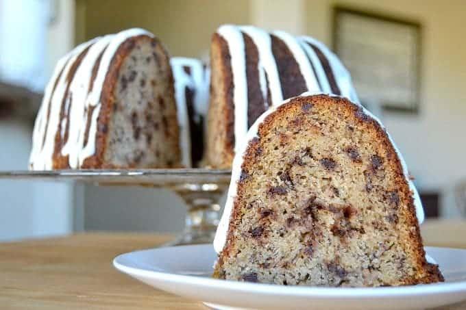 Banana Chocolate Chip Bundt Cake - 365 Days of Baking