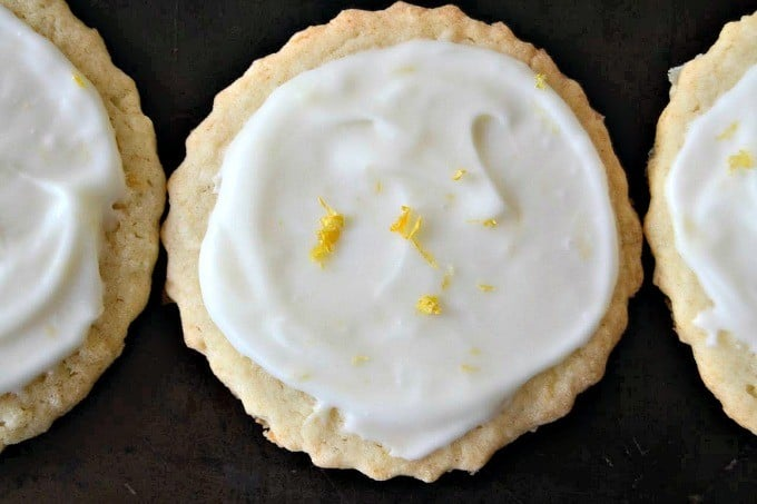 Lemon Coconut Sugar Cookies are made with fresh lemon juice, zest, and shredded coconut. This frosted sugar cookie makes a great Springtime treat!